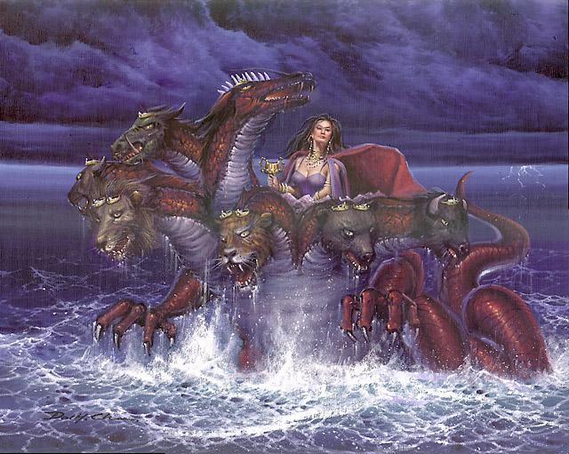 Woman_Riding_on_Beast