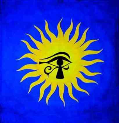 eye of horus sun god